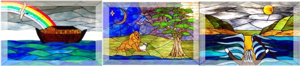 Calvin Stained Glass Windows